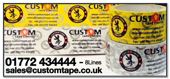 Custom Printed Packaging Tape