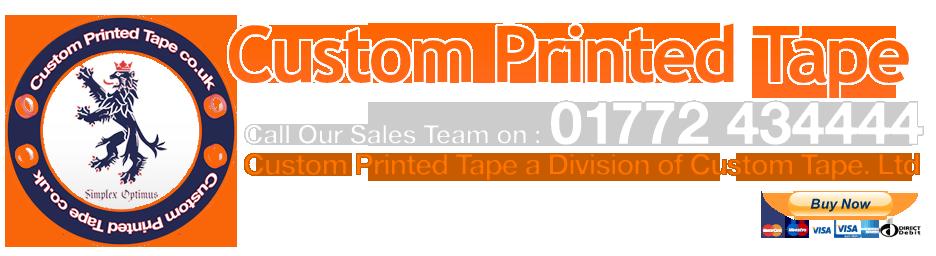 UK Printed Custom Tape