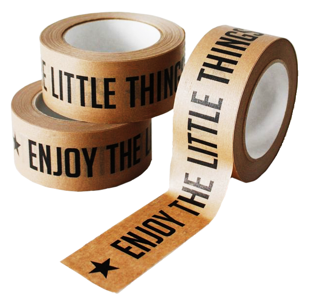 Custom paper packaging tape