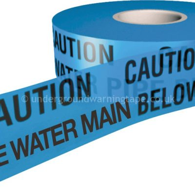 CAUTION BRINE WATER MAIN Warning Tape