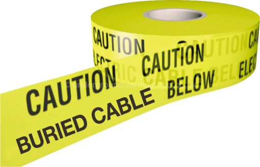 CAUTION BURIED CABLE Warning Tape