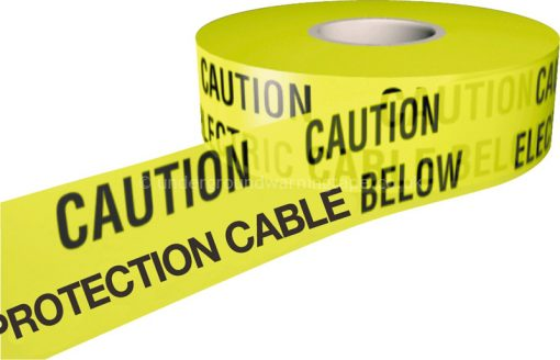 CAUTION CATHODIC PROTECTION CABLE Warning Tape