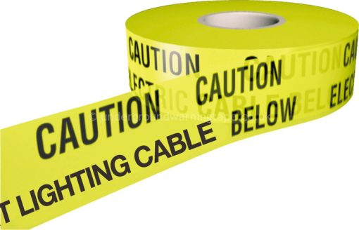 CAUTION STREET LIGHTING CABLE Underground Warning Tape