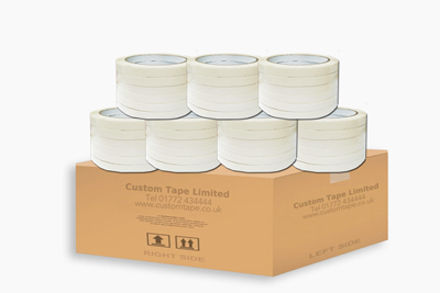 192 Rolls White 9mm Bag Neck sealing Tape