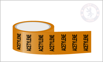 ACETYLENE Pipe Marking Tape