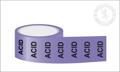 ACID Pipe Marking Tape