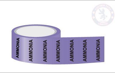 AMMONIA Pipe Marking Tape