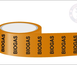 BIOGAS Pipe Marking Tape