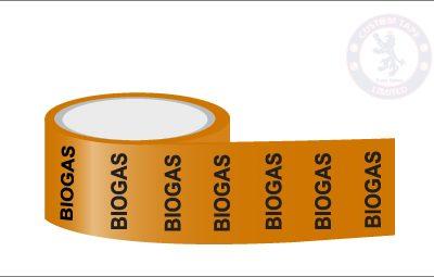 BIOGAS Pipe Marking Tape