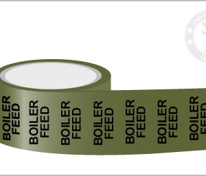 BOILER FEED Pipe Marking Tape