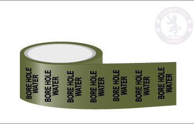 BORE HOLE WATER Pipe Marking Tape
