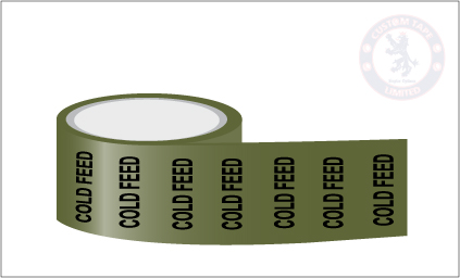 COLD FEED Pipe Marking Tape