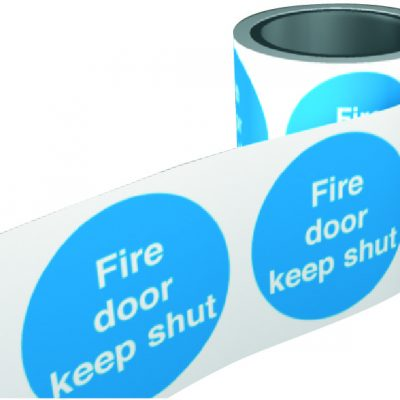 Fire Warning Labels 100mm 1