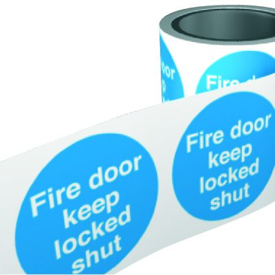 fdr2 fire door labels