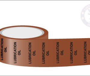 LUBRICATION OIL Pipe Marking Tape