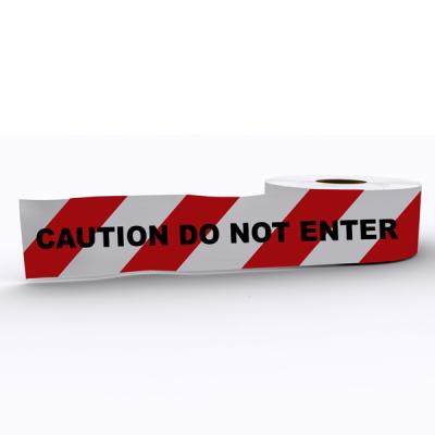 White / Multi Caution Barrier Tape 1