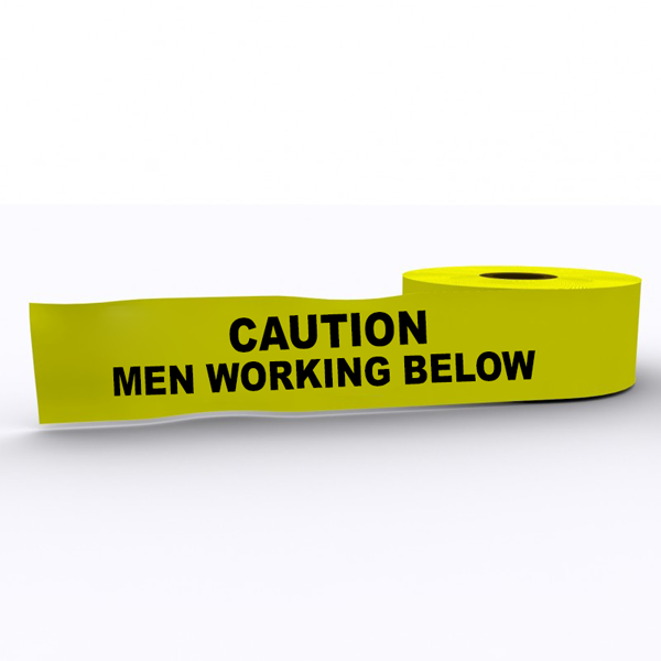 Caution Men Working Below