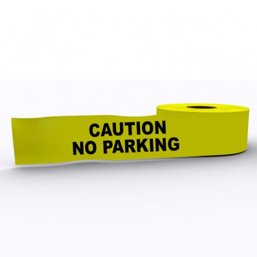 Caution No Parking