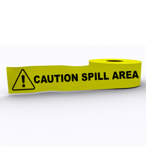 Caution Spill Area