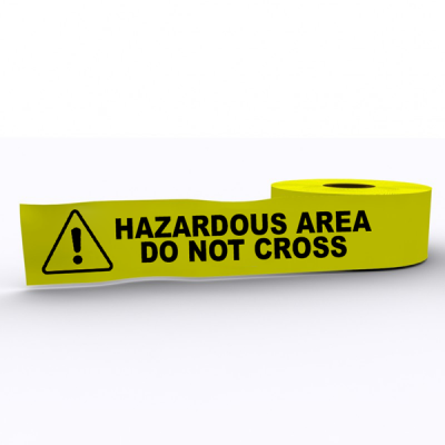 Hazardous Area do Not Cross