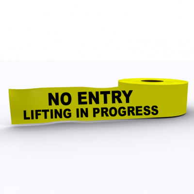 No Entry Lifting In Progress