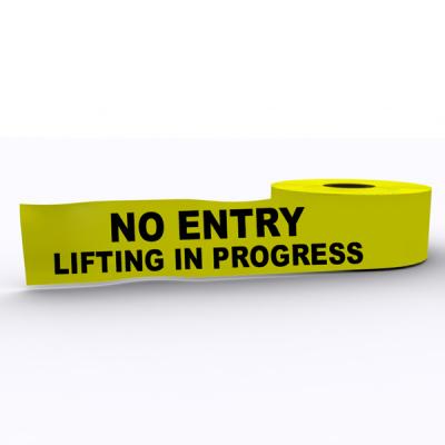No Entry Lifting In Progress
