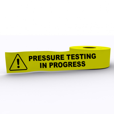 Pressure Testing In Progress