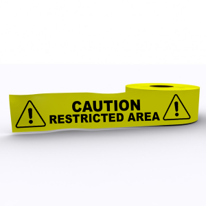 Caution Restricted Area