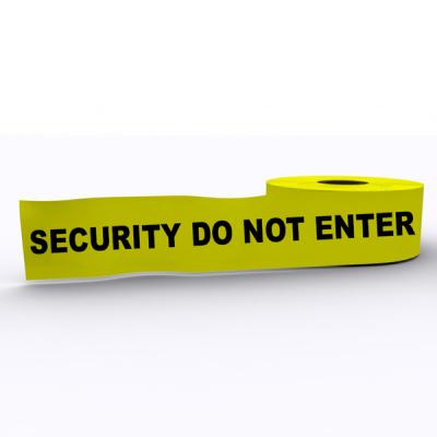 Security Do Not Enter