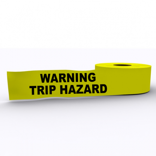 Warning Trip Hazard