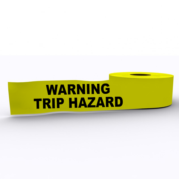 Warning Trip Hazard
